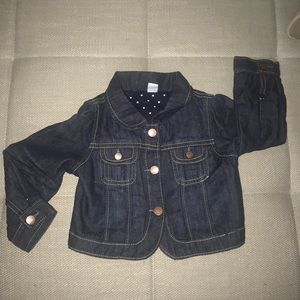 Baby girl gap jean jacket 18/24 months